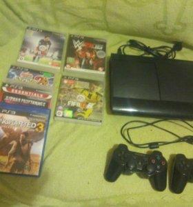 Sony PS-3 игровая консоль!