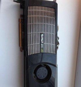 Видеокарта GTX 480.