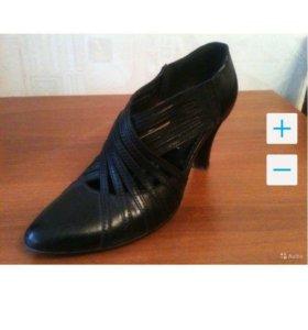 Туфли Elelsen кожанные италия