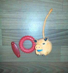 Игрушки-грызунки для собаки
