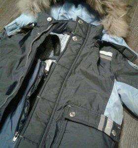 Зимняя куртка 2в1 с подстежкой пух-перо