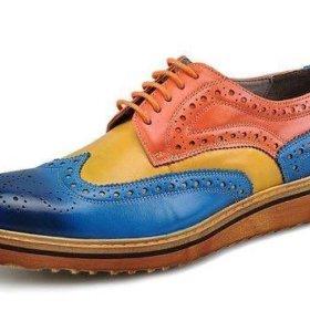 Новые модные туфли оксфорды 44 размера