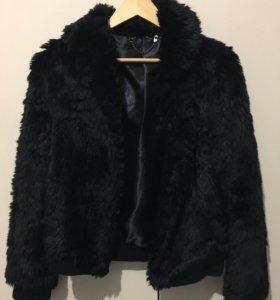 Куртка с искусственным мехом H&M