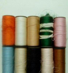 Шелковые нитки для вышивки