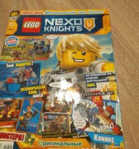 Журнал Лего Nexo knights