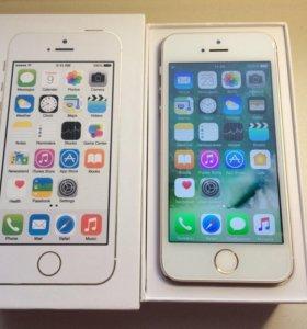 iPhone 5s gold (новый) +бронь стекла