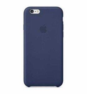 Чехол оригинальный Apple Leather Case для iPhone 6