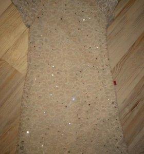 Платье 134см.
