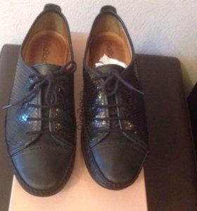 кожаные ботинки Ria Rosa( Эконика)