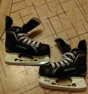 Коньки хоккейные Bauer supreme one20 детские