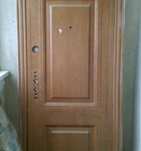 Дверь и раковина