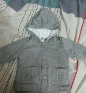курточка-толстовка новая