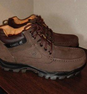 Зимние мужские ботинки, нубук