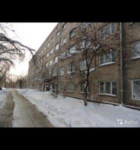 Комната в бывшем общежитии