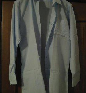 Новая мужская рубашка S (44-46)