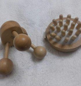 Массажеры деревянные