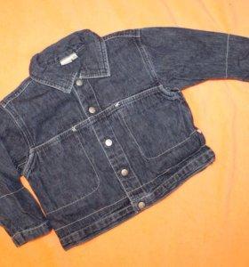 Детская джинсовая куртка для девочки