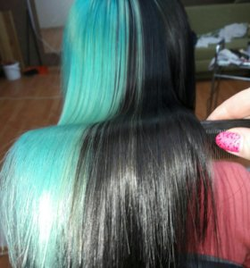 Ботокс и окрашивание волос
