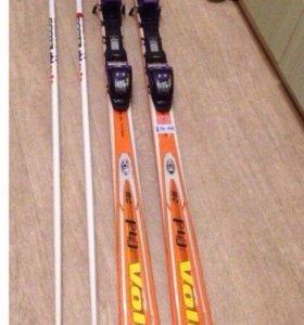 Горнолыжные лыжи Volkl