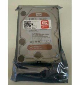 Western Digital Red WD20efrx 2 Тб SATA 6gb/s