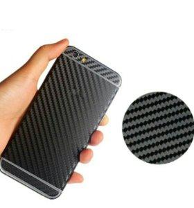 iPhone 6 6s 7 карбоновый плёнка чехол стекло
