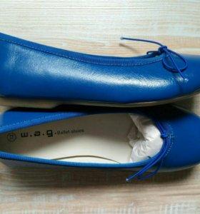 Новые туфли W. A. G (Испания) .