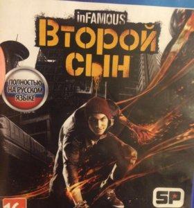 Infamous игра ps4