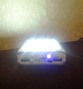 Портативный зарядник на 20000mah с солнечной батар