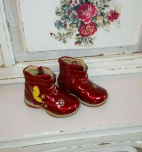 ботиночки демисезонные 23 14см