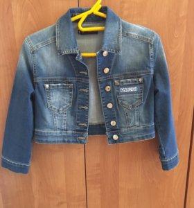 Джинсовая курточка Dsquared
