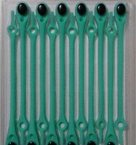 Мятные шнурки (силиконовые )