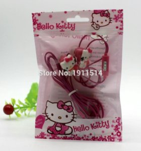 Наушники Hello Kitty