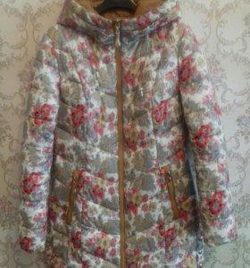 Куртка на осень+беретики