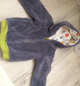 Курточка-ветровка на мальчика р.74