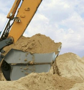 Отличный песок мытый,чёрный,природный.Щебень.