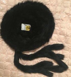 Меховая шапка (кролик)
