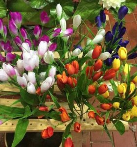 Цветы искусственые