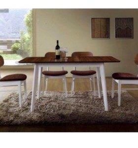 Новый стол и 4 стула из Малайзии!