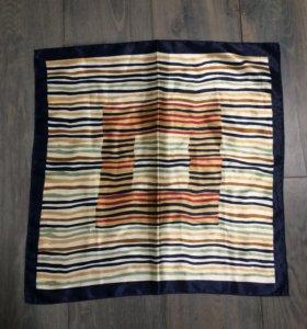 Новый шёлковый шейный платок