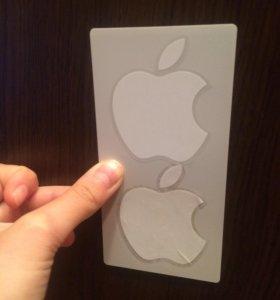 Наклейки, Apple