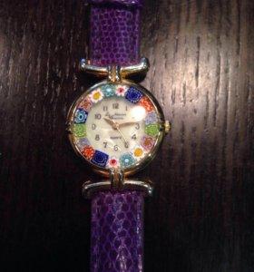Часы Murano Millefiori