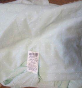 Простынь на резинке на кроватку детскую