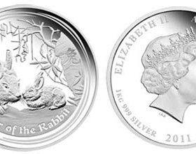 Монета серебряная 50 центов Elizabeth 2
