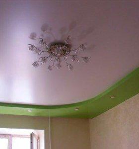 Натяжные потолки art: 303 Белые