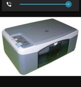 Копир-сканер-принтер hp