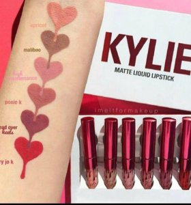 Набор  помад New Collection Kylie Valentines