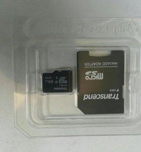Карта памяти microSD 16 ГБ, Class 10