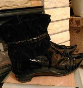 женские ботинки натуральные!