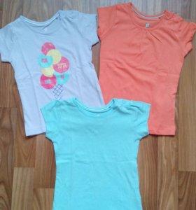 Новые футболки LUPILU р 86-92