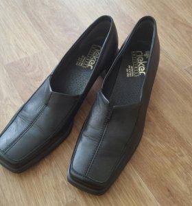Туфли женские Rieker. Новые!!! Нат.кожа,42р